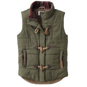 Legendary Whitetails green vest size small